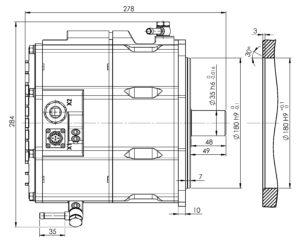 5kw generator dimension drawings