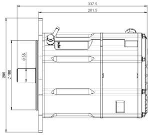 10kw generator dimension drawings